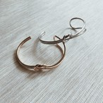 knot bangle (2 colors)
