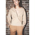 【CINOH】 O-Ring Cuffs Blouse