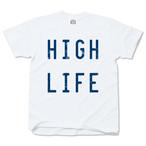 HIGH LIFE whitexblue