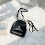 がま口ポケットバッグ ショルダーバッグ 韓国ファッション