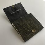 黒谷和紙のカードケース財布【墨蹟】