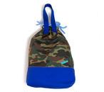 コピー:大きな巾着袋 体操袋・給食袋×迷彩柄MIX-両ひも・持ち手付き 入園グッズ 入学準備