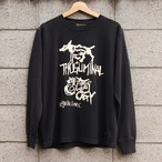 "L/S TEE ""THUGLIMINALOGY"" (BLACK) / GAVIAL"