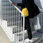 Eco Fur Bag / Chrome Yellow / Beige / Black / White