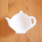 【アウトレット品】 ポット型ティーバッグトレイ 豆皿 豆小皿(美濃焼)