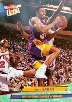 NBAカード 92-93FLEER Tony Smith #94 LAKERS