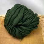 Nn42) 深緑 スラブヤーン