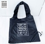 """SURFERSCOFFEE""   Pocketable  Eco-bag"