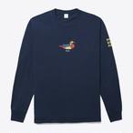 Duck LS Tee(Deep Navy)