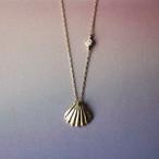 Shell K18YG ダイヤモンドネックレス