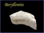 ベリロナイト原石F