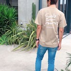 【予約:4/23以降発送】Surf's Up Tee - Sand khaki