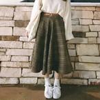 【bottoms】新しいレトロチェック柄のスカート15471518