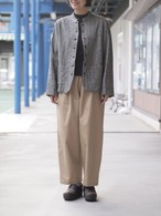 【LUEUF】LINEN CHAMBRAY TRIPLE WASH JACKET