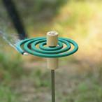 196ひのきのキャンプ用品 木製 蚊取り線香立て 磁石  BBQ キャンプ用品 アウトドア バーベキュー ナチュラルキャンプ 196hinoki-080