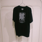 TENKI × A Man Collaboration Tee Black × White