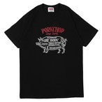 CHOPPERS WELCOME TEE/BLACK