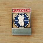 【ロシア】 こぐまのミーシャ (No.36 モスクワ 小) バッジ ヴィンテージ バッチ USSR 旧ソ連