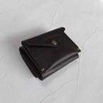 3つ折り財布 Dark Brown  (在庫あり)