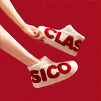 【在庫僅少】【shoes】キュートアルファベットファッションフラットシューズ24156371