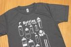 Bottle on the trail / ミックスグレーTシャツ