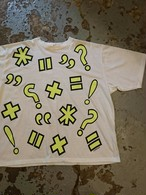 "80s ""FORECAST TEE DEAD STOCK"" Yellow Print"