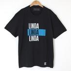 (白S、黒Lのみ)LINDA tee (18AW tee-03)