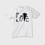 【メンズクルーネックTシャツ】LOVE