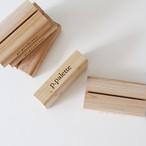 [p.palette] 木製カード立て
