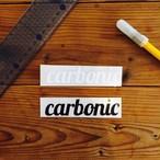 carbonic cutting sticker (M)