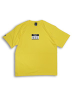LOGO STICKER TEE yellow
