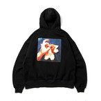 TIGHTBOOTH KILLERBONG HANDSIGN HOODIE BLACK