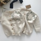 penoora's/embroidery cardigan
