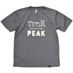 mountdoor マウントドア Trail or PEAK Tシャツ(ミックスグレー)