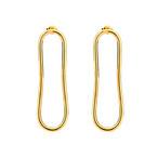 long hoop pierce