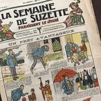 イラストが可愛い!フランスの少女雑誌 LA SEMAINE DE SUZETTE