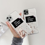 【オーダー商品】2Way Tinfoil english iphone case