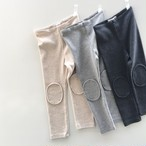 benebene PEACH PATCH LEGGINGS(全3色/2T〜8Tサイズ展開)