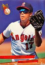 MLBカード 93FLEER Chad Curtis #159 ANGELS