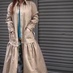 【sandglass】military one-piece coat  / 【サンドグラス】ミリタリー ワンピース コート