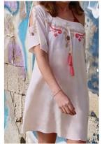 ◆Mon ange Louise◆ EMBROIDERY CALOU DRESS(cream)Sサイズ ビーチドレス ワンピース