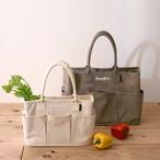 【春のお出かけ&お買い物のお供に★ショッパーバッグ】Nananoel VegieBAG オリジナルベジバッグ フラップ/A4対応3カラー