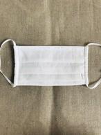 プリーツマスク 遠州織物×ダブルガーゼ ミドルサイズ