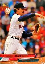 MLBカード 93FLEER Danny Darwin #150 RED SOX