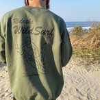 Wild surf Sweat - Military green