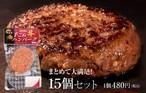 宮崎 有田牛手ごねハンバーグ(15個セット)