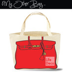 My Other Bag マイアザーバッグ トート Carry All キャリーオール ラージサイズ Audrey Red