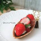 【white*ham】『苺タルトのバッグチャーム』i1002004