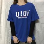 【tops】アルファベット半袖カジュアルラウンドネックプルオーバーTシャツ17631570