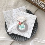 wedding ring cookie (10個単位でご購入ください@605)